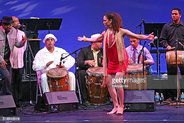 BomPlenazo Artists Collective performing at Main Theater at Hostos Community College on Saturday night October 11 2014This imageJulia GutierrezRivera...