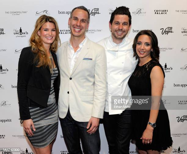 Bon Appetit magazine Chef de Cuisine Mary Nolan EditorinChief Adam Rapoport Chef of the Bon Appetit Collection Ryan Scott and Vice President and...