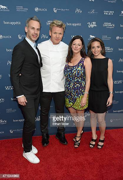 Bon Appetit magazine EditorinChief Adam Rapoport chef Gordon Ramsay Las Vegas Convention and Visitors Authority Senior Vice President of Marketing...
