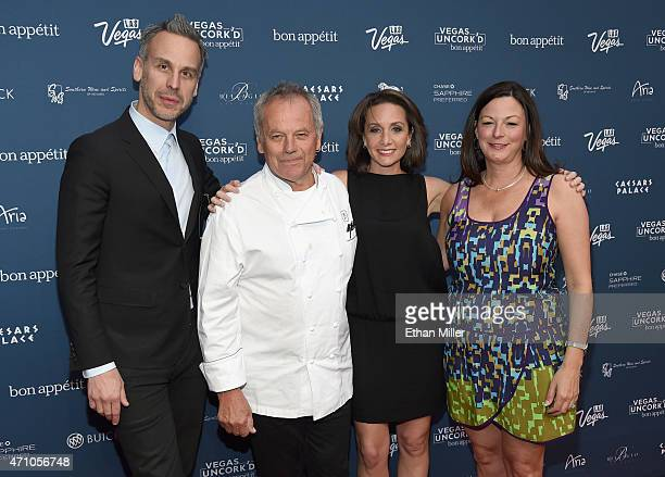 Bon Appetit magazine EditorinChief Adam Rapoport chef Wolfgang Puck Las Vegas Convention and Visitors Authority Senior Vice President of Marketing...