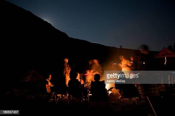 Bon Fire by the ridge