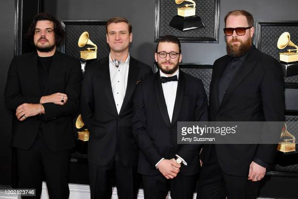 Bon Iver attend the 62nd Annual GRAMMY Awards at Staples Center on January 26 2020 in Los Angeles California