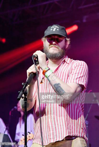 Bon Iver performs onstage during 'Into The Great Wide Open A Tom Petty Superjam' at This Tent during day 2 of the 2018 Bonnaroo Arts And Music...