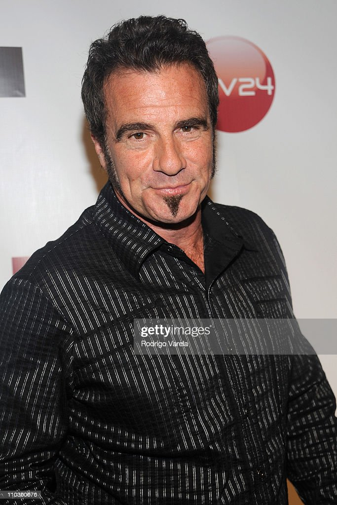 Bon Jovi Drummer Tico Torres arrives at the Ocean Drive Magazine Creates Crystal Palace 15th Anniversary Party in Miami, Florida on Saturday, February 16, 2008.