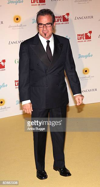 """Bon Jovi"""" drummer Tico Torres attends the Dreamball 2008 charity gala in the Martin-Gropius Building on September 18, 2008 in Berlin, Germany."""