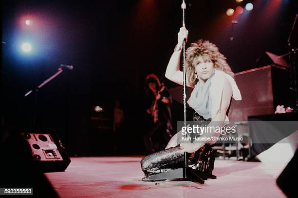 Bon Jovi Jon Bon Jovi live at Nakano Sun Plaza, Tokyo, April 20, 1985.