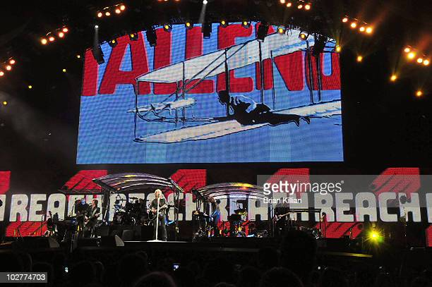 Bon Jovi performs at the New Meadowlands Stadium on July 9, 2010 in East Rutherford, New Jersey.
