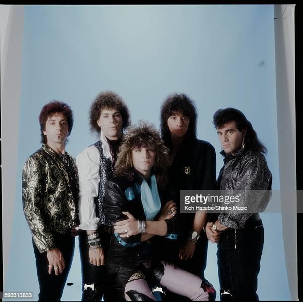 Bon Jovi studio photo session in Tokyo