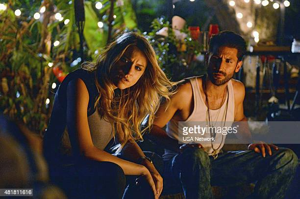GRACELAND 'Bon Voyage' Episode 307 Pictured Brit Morgan as Amber Adam Thayer as Rodney 'Reggie Windgate