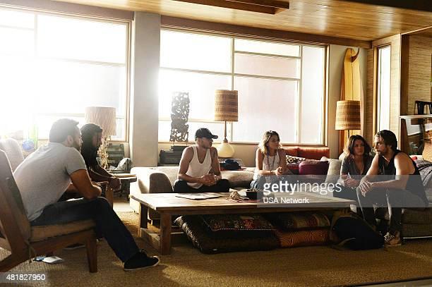 GRACELAND Bon Voyage Episode 307 Pictured Daniel Sunjata as Paul Briggs Brandon Jay McLaren as Dale DJ Jakes Manny Montana as Joe Johnny Tuturro...