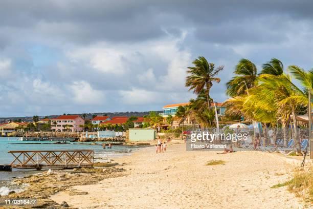 ボネール、クラレンディク・ココビーチ - カリブ海オランダ領 ストックフォトと画像