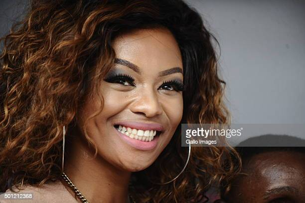 Bonang Matheba at the BET Experience Festival at Ticketpro Dome on December 12 2015 in Johannesburg South Africa The inaugural BET Experience Africa...