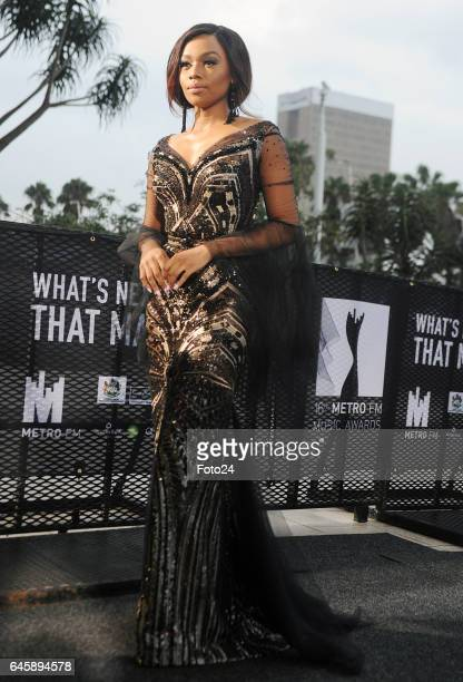Bonang Matheba during the 16th annual Metro FM Music Awards held at the Inkosi Luthuli Convention Centre on February 25 2017 in Durban South Africa...