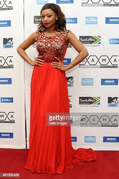 Bonang Matheba during the 2015 MTV Africa Music Awards on July 182015 at the Durban International Conference Centre in DurbanSouth Africa The MTV...