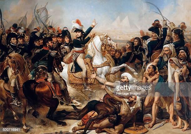 Bonaparte at the Battle of the Pyramids on July 21 1798 Found in the collection of Musée de l'Histoire de France Château de Versailles