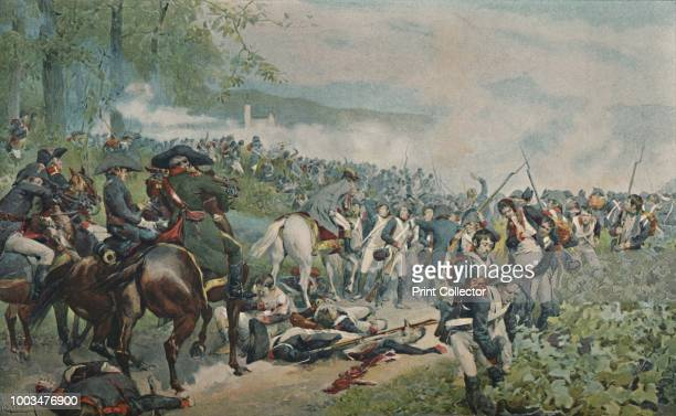 Bonaparte Checking The French Retreat at Marengo' The Battle of Marengo was fought on 14 June 1800 between French forces under Napoleon Bonaparte and...