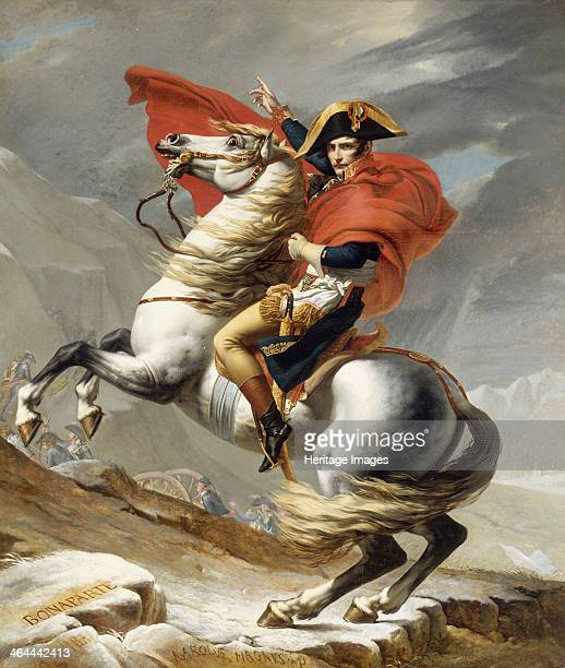 Bonaparte Crossing the Grand SaintBernard Pass 20 May 1800 1800 Found in the collection of the Musée de l'Histoire de France
