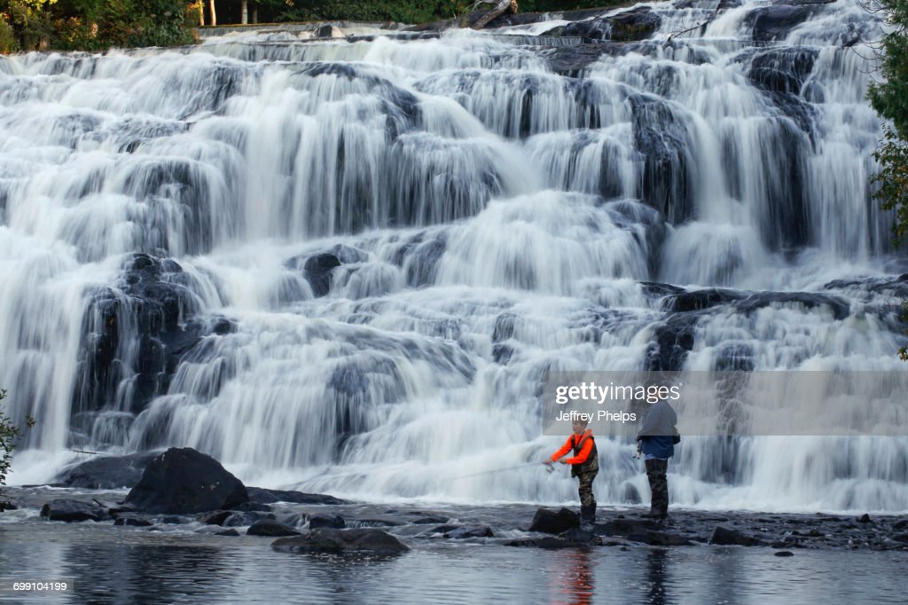 Bond Falls : Stock Photo