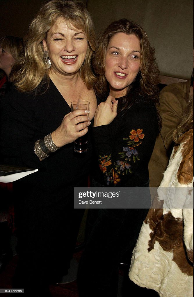Bond Girl Carol Ashby With Barbara Broccoli, Bond Girls Are Forever Book Launch At Osla Restaurant, In Haymarket, London