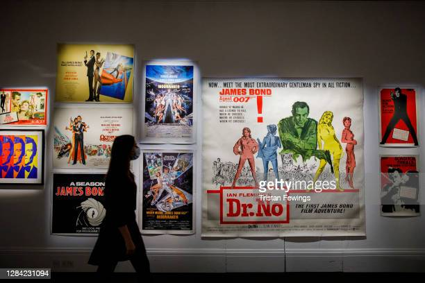"""Bond on Bond Street"""", Sotheby's celebrates all things James Bond with a series of online sales including vintage film posters, rare books, timepieces..."""