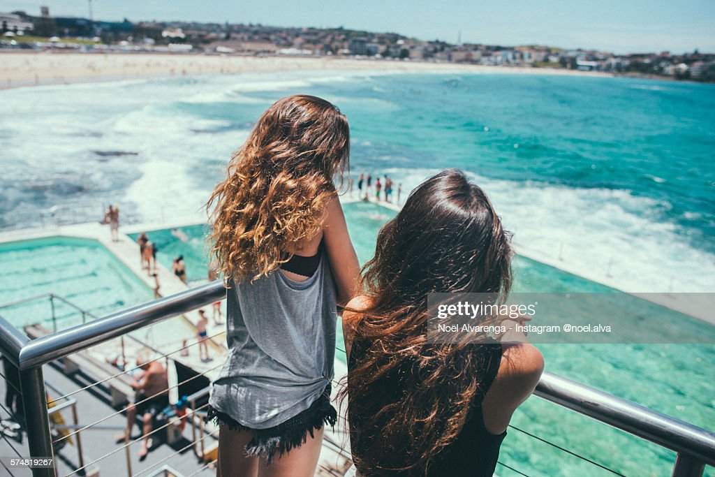 Bondi Beach blues : Stock Photo