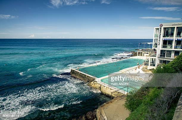 Bondi Beach Iceberg Swimming Pool in Sydney Australia