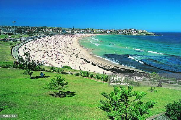 bondi beach, new south wales, australia - bondi beach stock pictures, royalty-free photos & images