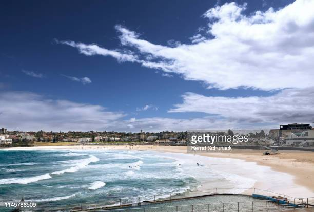 bondi beach - bernd schunack stock pictures, royalty-free photos & images