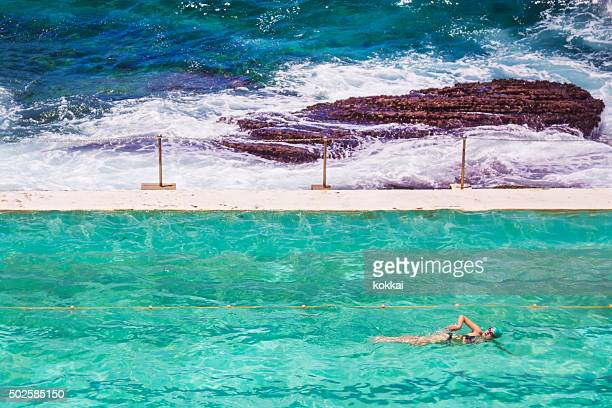 Bondi Icebergs - Swimming by the Sea