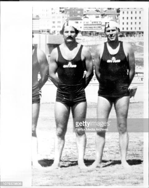 Bondi Surf Club Members L to R R Leitch amp C BaldockMembers of The Bondi Surf Club who were suspended on competition for 12 months June 23 1980