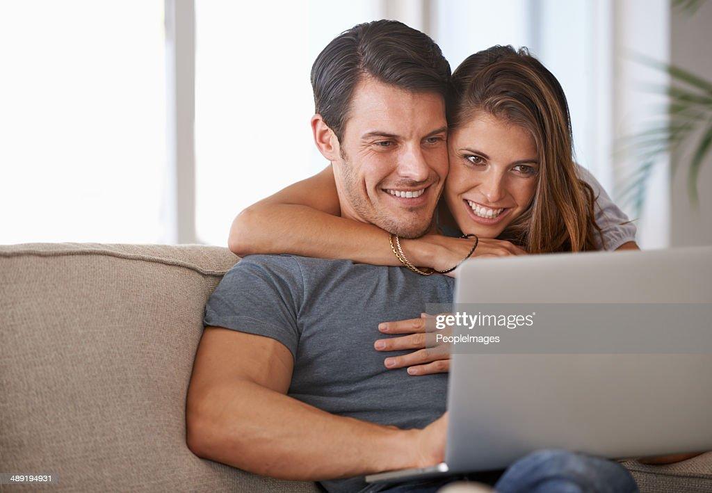 Bonding and browsing : Stock Photo