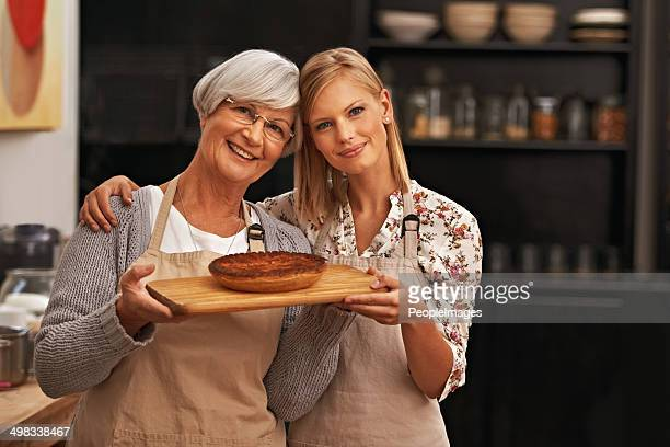 bonding over baked goods - savory pie stock photos and pictures
