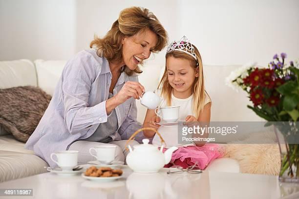 Bonding with granny