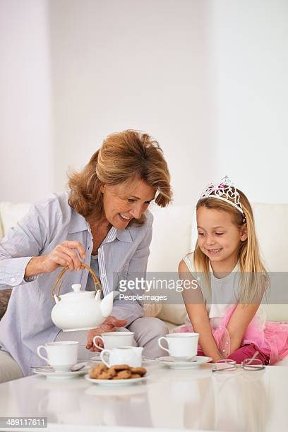 bonding with her granddaughter - royalty free images no watermark stock photos and pictures