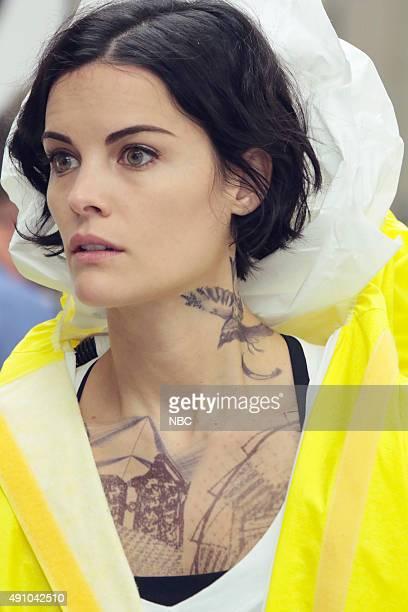 BLINDSPOT 'Bone May Rot' Episode 104 Pictured Jaimie Alexander as Jane Doe