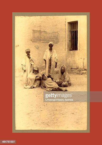 Bone Prisoners Kroumirs a The Casbah Algiers Neurdein Brothers 1860 1890 The Neurdein Photographs Of Algeria Including Byzantine And Roman Ruins In...