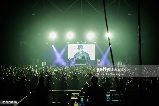 Bone Thugs N Harmony perform at Hordern Pavilion on May 27 2016 in Sydney Australia
