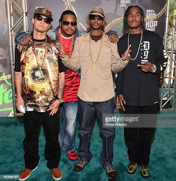 Bone ThugsNHarmony attend the BET Hip Hop Awards 2013 at the Boisfeuillet Jones Atlanta Civic Center on September 28 2013 in Atlanta Georgia