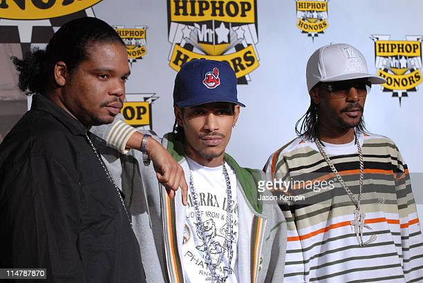 Bone ThugsNHarmony during 2006 VH1 Hip Hop Honors Arrivals at Hammerstein Ballroom in New York City New York United States