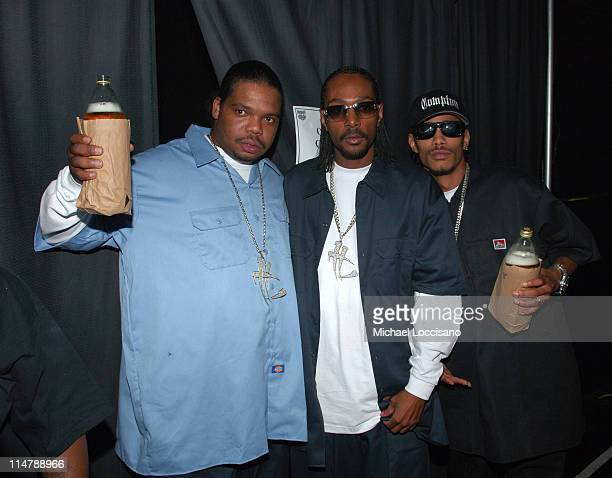 Bone ThugsNHarmony during 2006 VH1 Hip Hop Honors Backstage and Audience at Hammerstein Ballroom in New York City New York United States