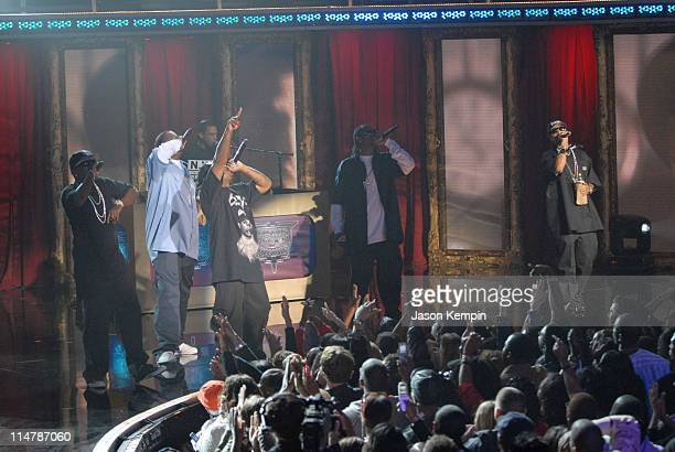 Bone ThugsNHarmony during 2006 VH1 Hip Hop Honors Show at Hammerstein Ballroom in New York City New York United States