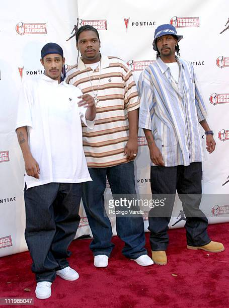 Bone ThugsnHarmony during The Source HipHop Music Awards Red Carpet at Miami Arena in Miami Florida United States