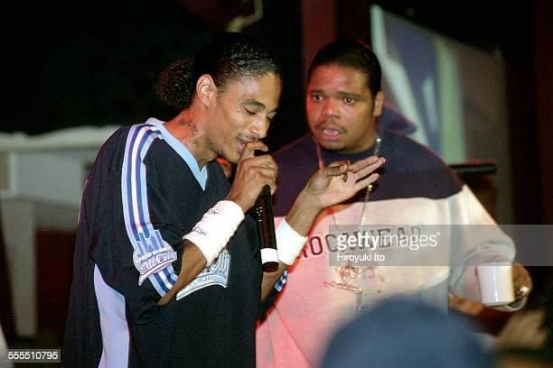 Bone ThugsnHarmony performing at BB King Blues Club Grill on Tuesday night September 17 2002This imageLayzie Bone left and Wish Bone