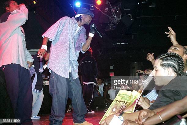 Bone ThugsnHarmony performing at BB King Blues Club Grill on Tuesday night September 17 2002This imageWish Bone left and Krayzie Bone