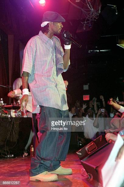 Bone ThugsnHarmony performing at BB King Blues Club Grill on Tuesday night September 17 2002This imageKrayzie Bone
