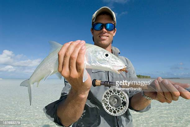 bonefish caught with flyrod