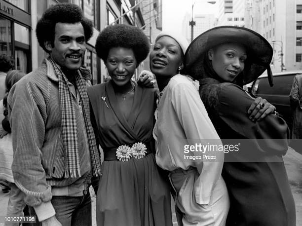 Boney M Pop Group circa 1979 in New York City