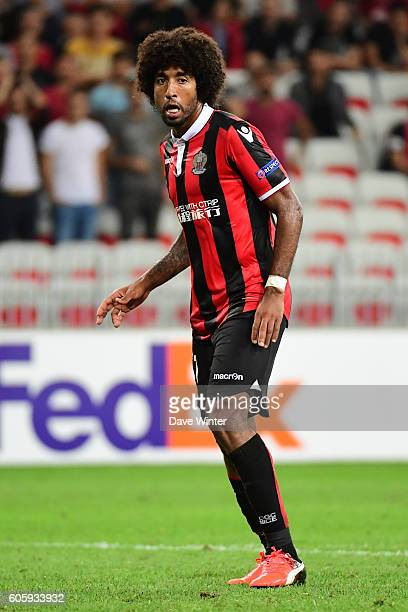 Bonfim Dante of Nice during the Europa League match between Nice and Schalke 04 at Allianz Riviera Stadium on September 15 2016 in Nice France