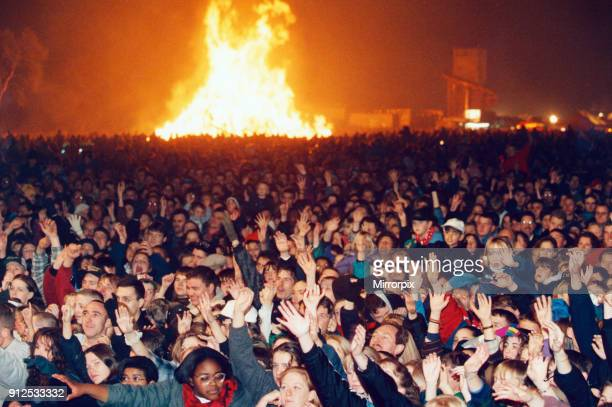 Bonfire Night Party at Heaton Park Manchester 4th November 1995