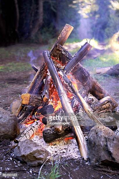 bonfire - fire natural phenomenon stock pictures, royalty-free photos & images